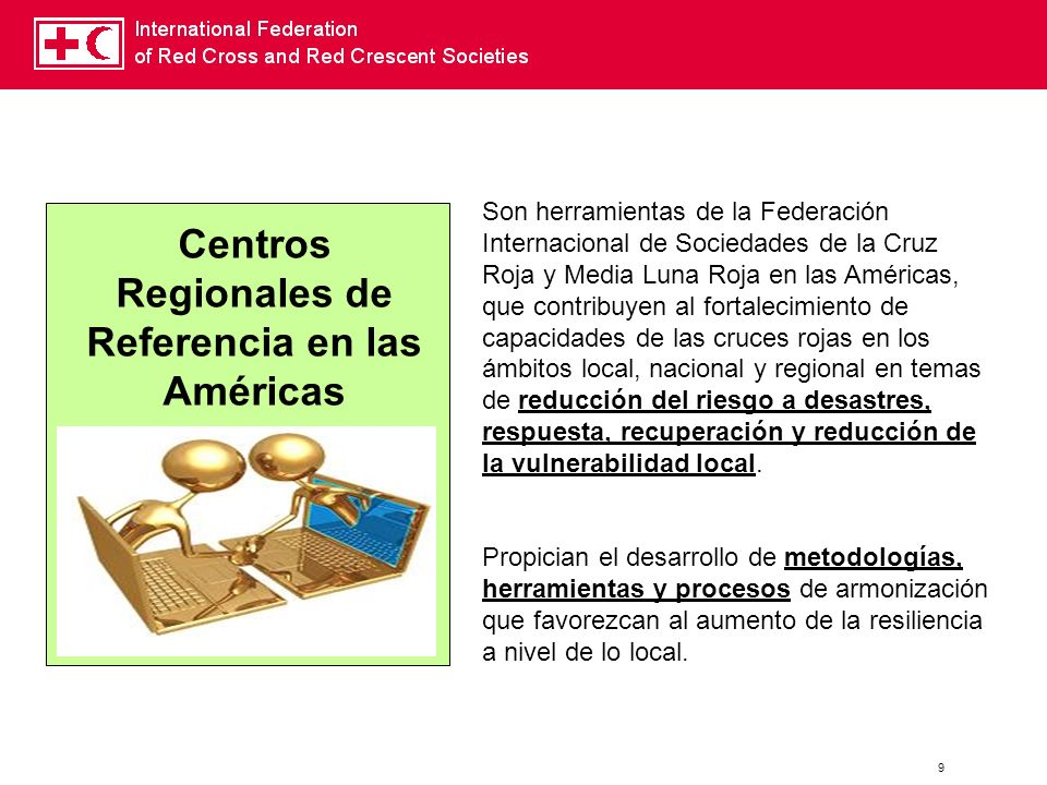 Centros Regionales de Referencia en las Américas