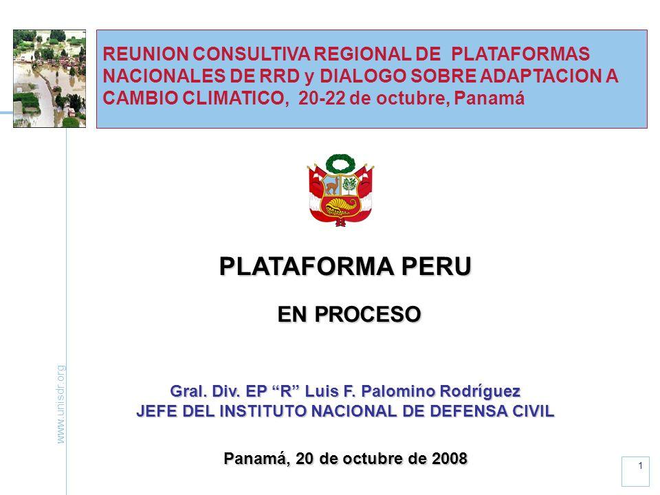 PLATAFORMA PERU EN PROCESO