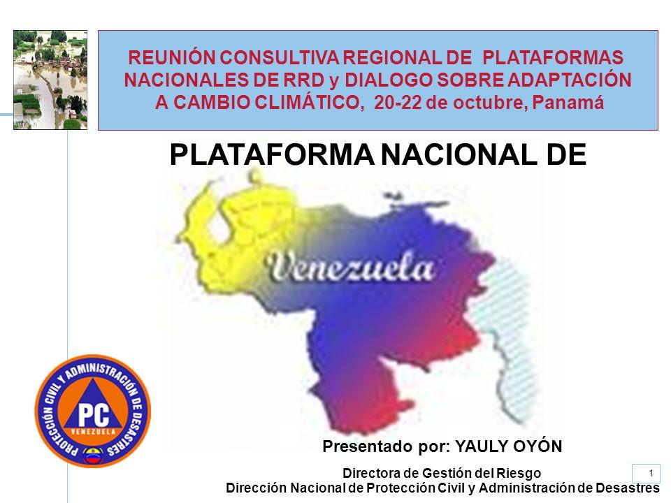 PLATAFORMA NACIONAL DE