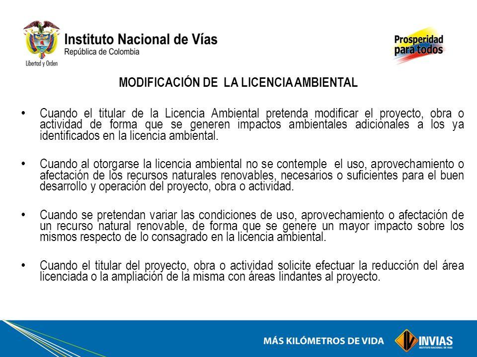 Licenciamiento ambiental en proyectos ppt descargar for Licencia de obras cuando es necesaria
