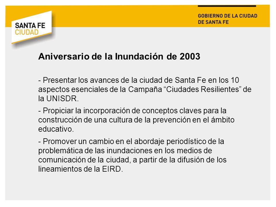 Aniversario de la Inundación de 2003
