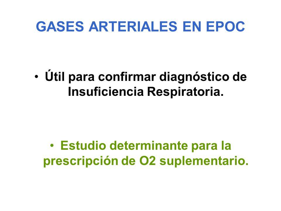 GASES ARTERIALES EN EPOC