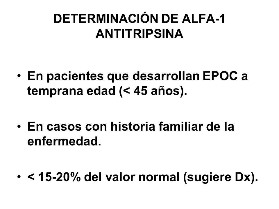 DETERMINACIÓN DE ALFA-1 ANTITRIPSINA