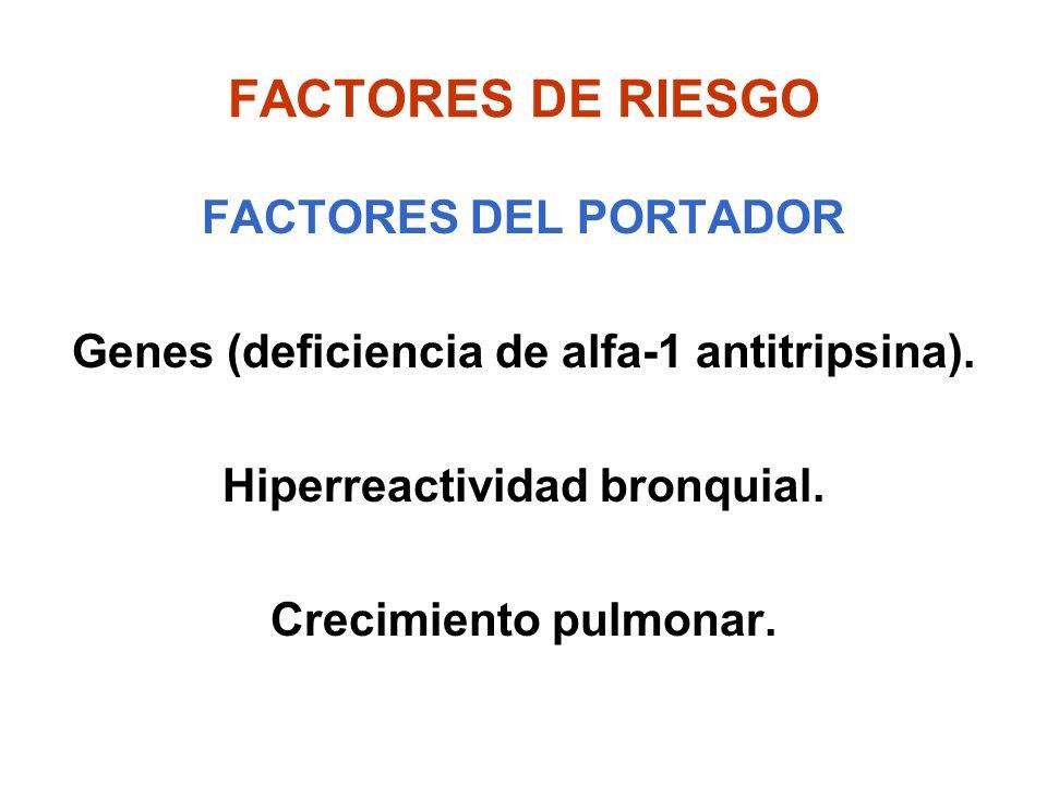 FACTORES DE RIESGO FACTORES DEL PORTADOR