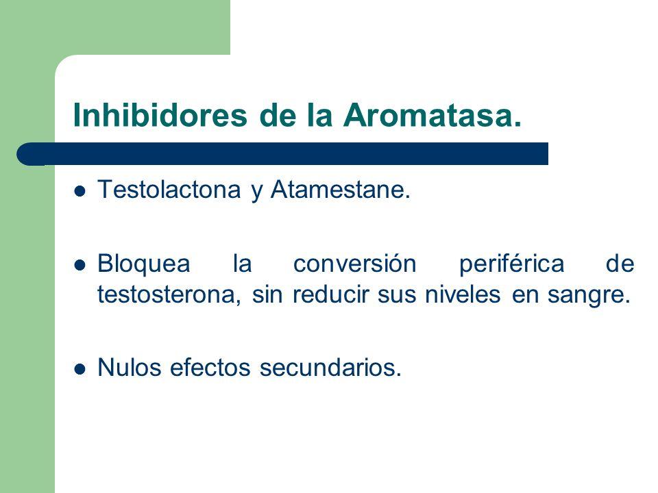 Inhibidores de la Aromatasa.
