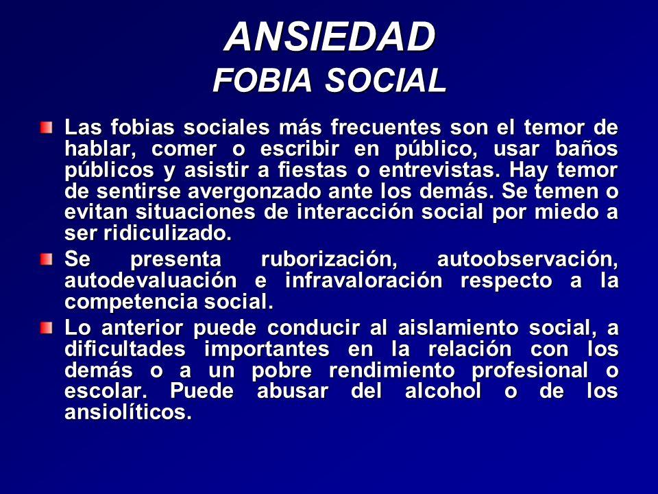 ANSIEDAD FOBIA SOCIAL
