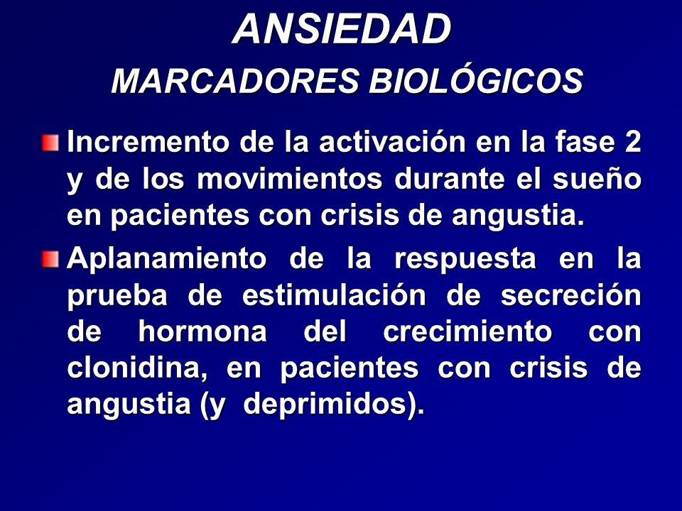ANSIEDAD MARCADORES BIOLÓGICOS