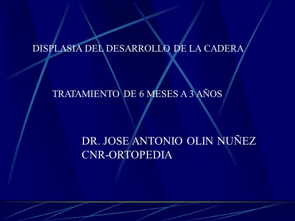 DR. JOSE ANTONIO OLIN NUÑEZ CNR-ORTOPEDIA