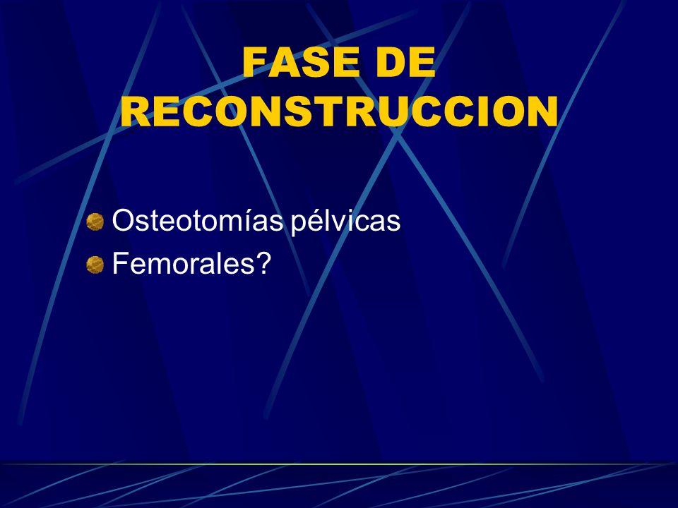 FASE DE RECONSTRUCCION