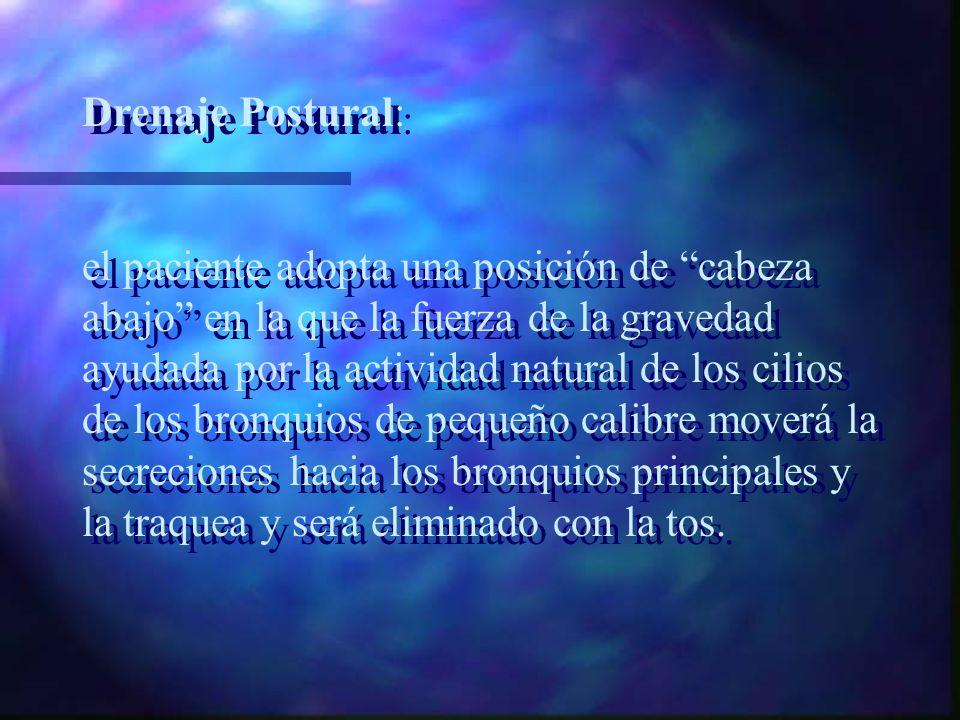 Drenaje Postural: