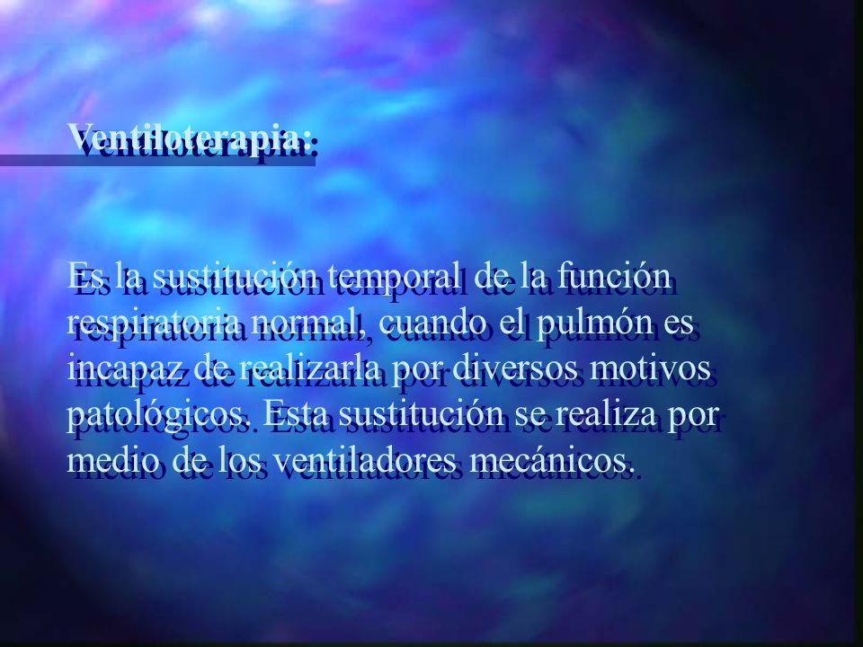 Ventiloterapia: