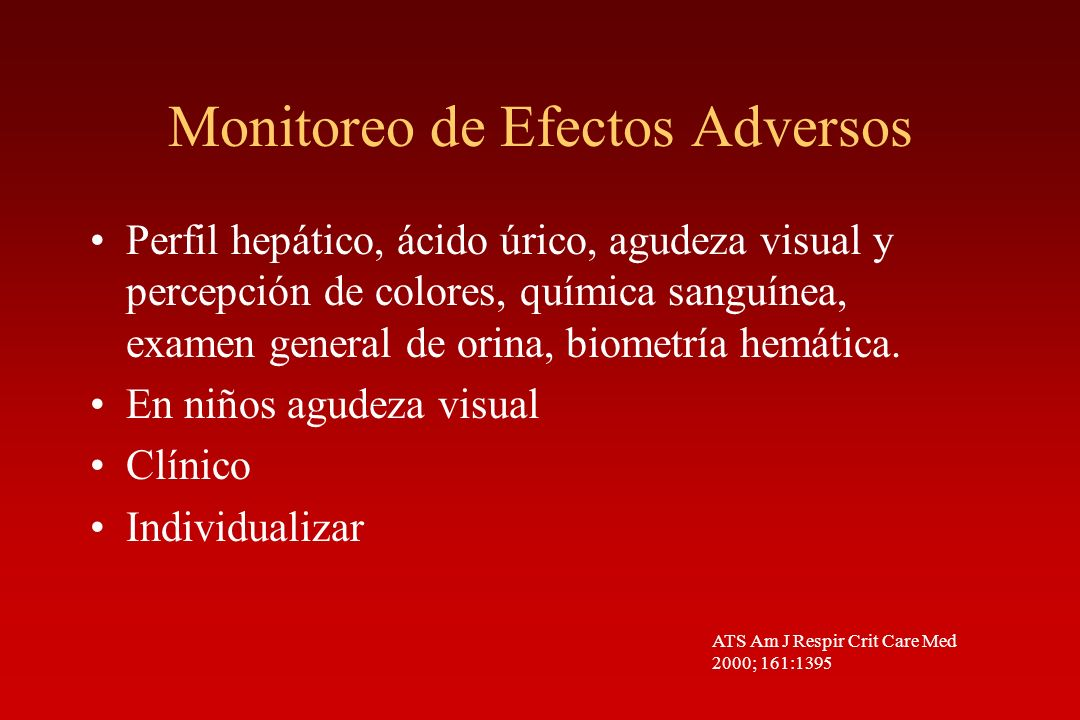Monitoreo de Efectos Adversos