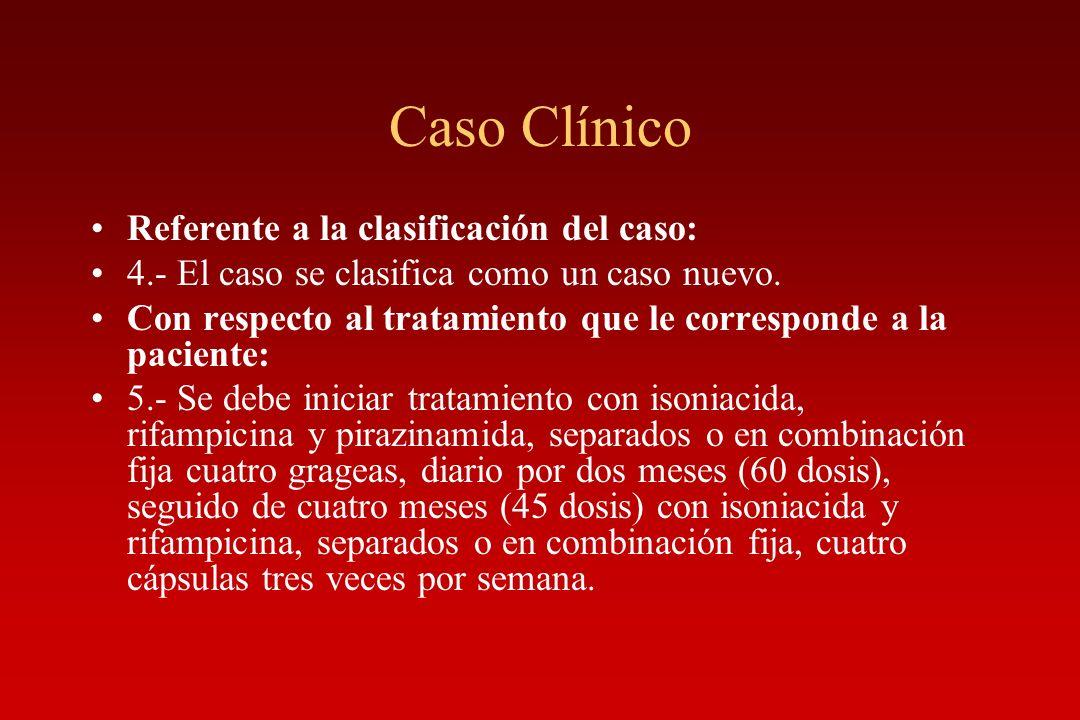 Caso Clínico Referente a la clasificación del caso: