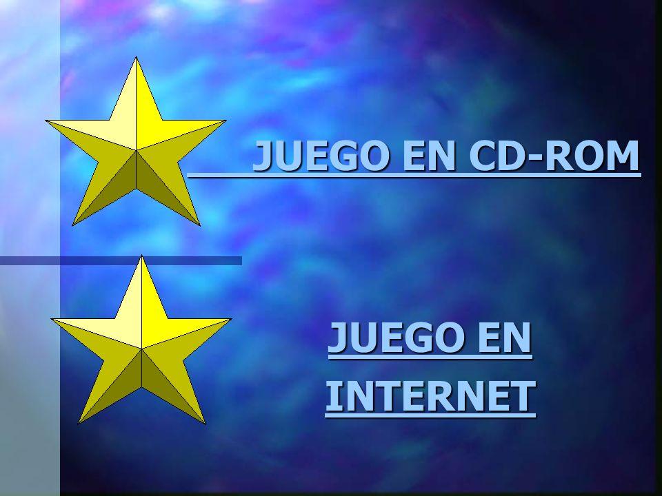 JUEGO EN CD-ROM JUEGO EN INTERNET