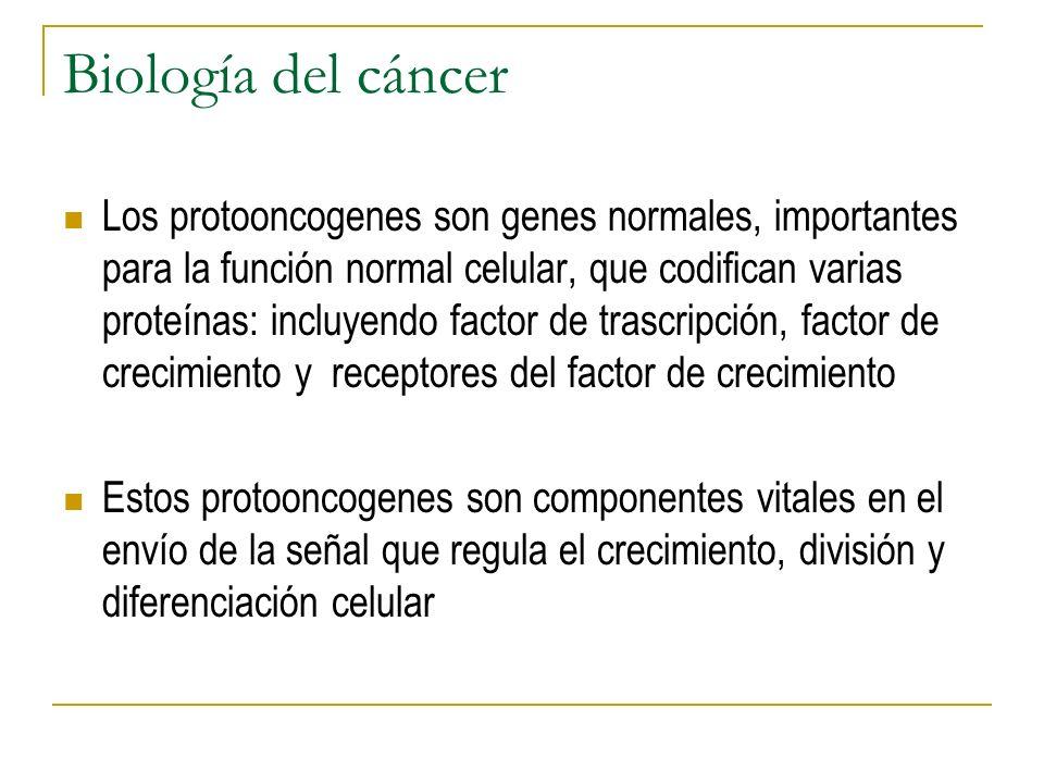 Biología del cáncer