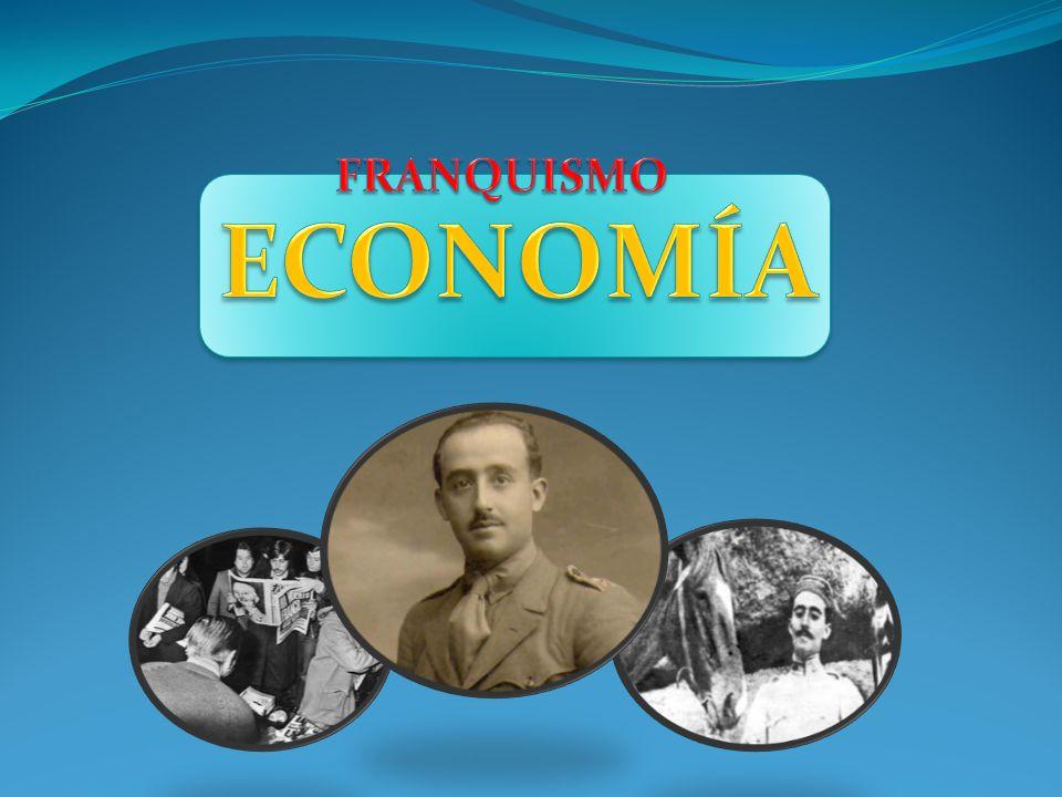 FRANQUISMO ECONOMÍA