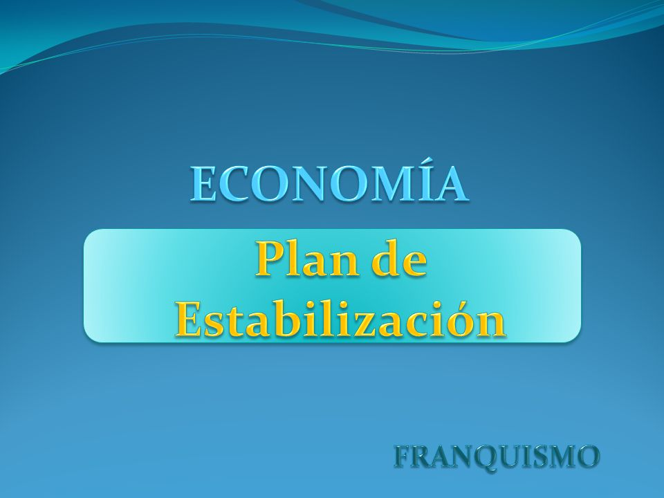 Plan de Estabilización