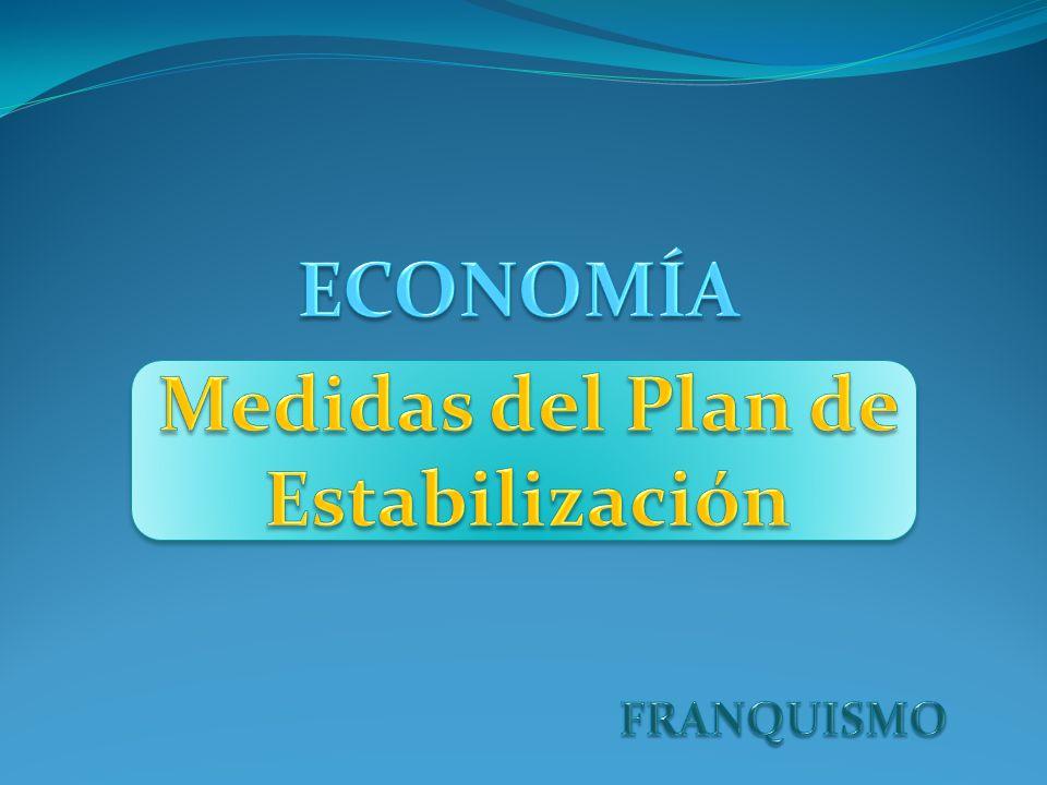 Medidas del Plan de Estabilización