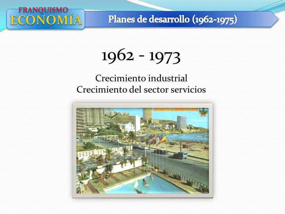 1962 - 1973 ECONOMÍA Planes de desarrollo (1962-1975)