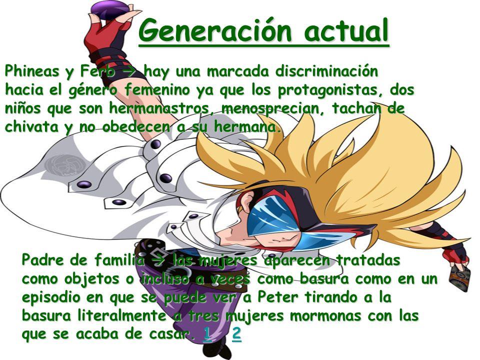 Generación actual