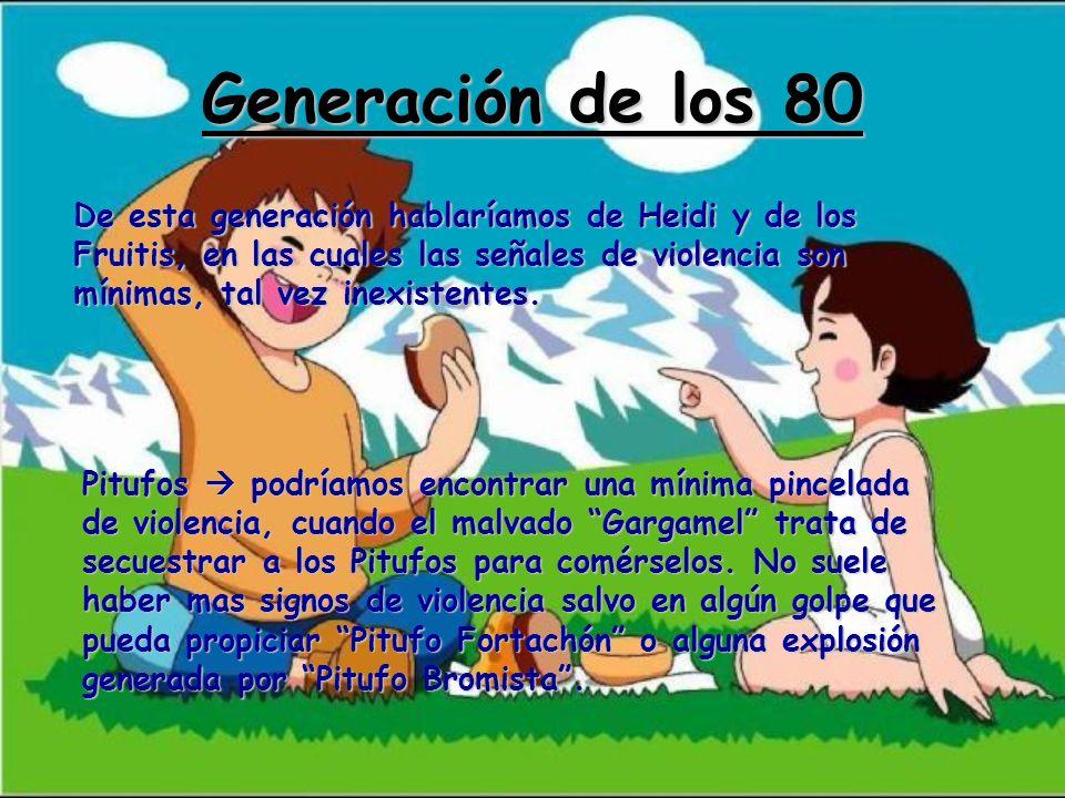 Generación de los 80