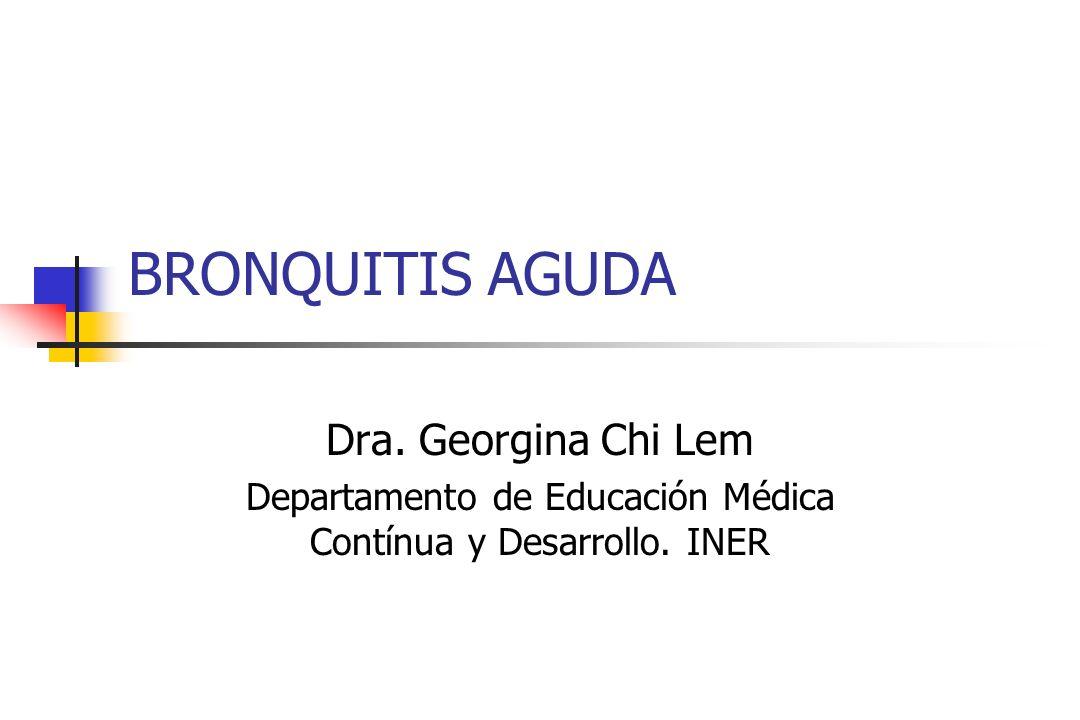Departamento de Educación Médica Contínua y Desarrollo. INER