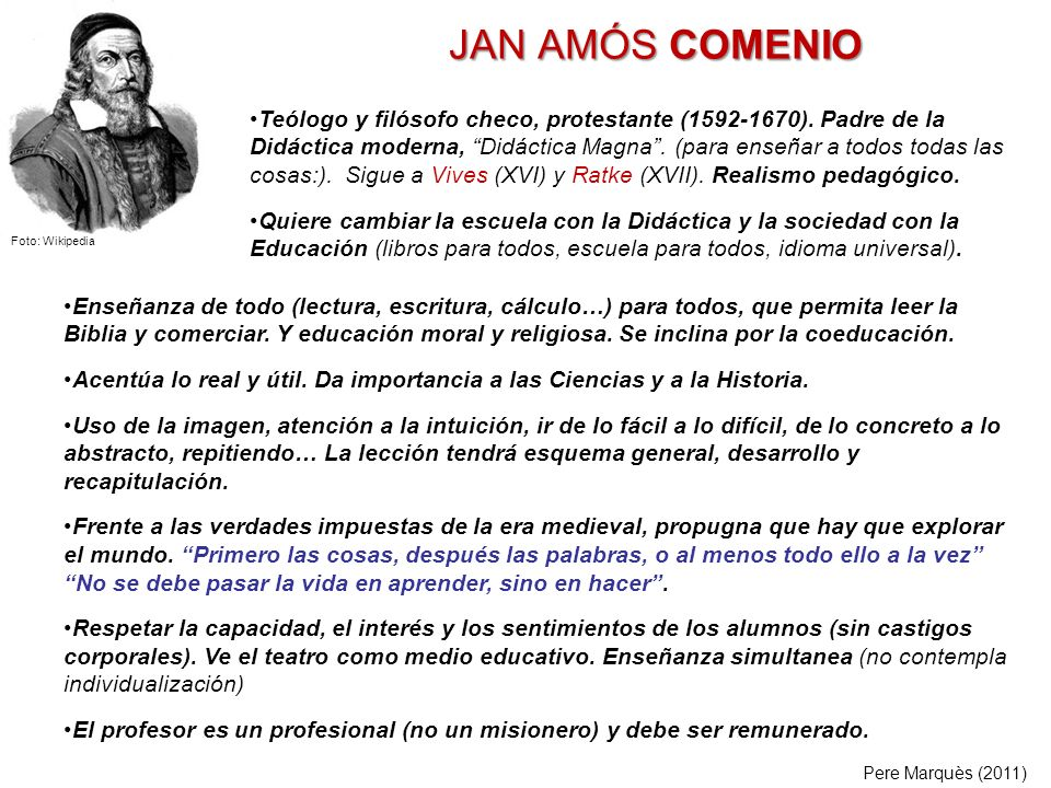 JAN AMÓS COMENIO