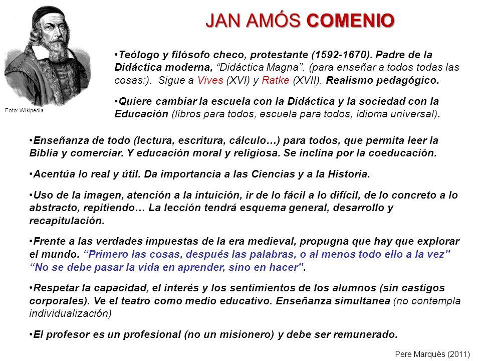 JAN AMÓS COMENIO
