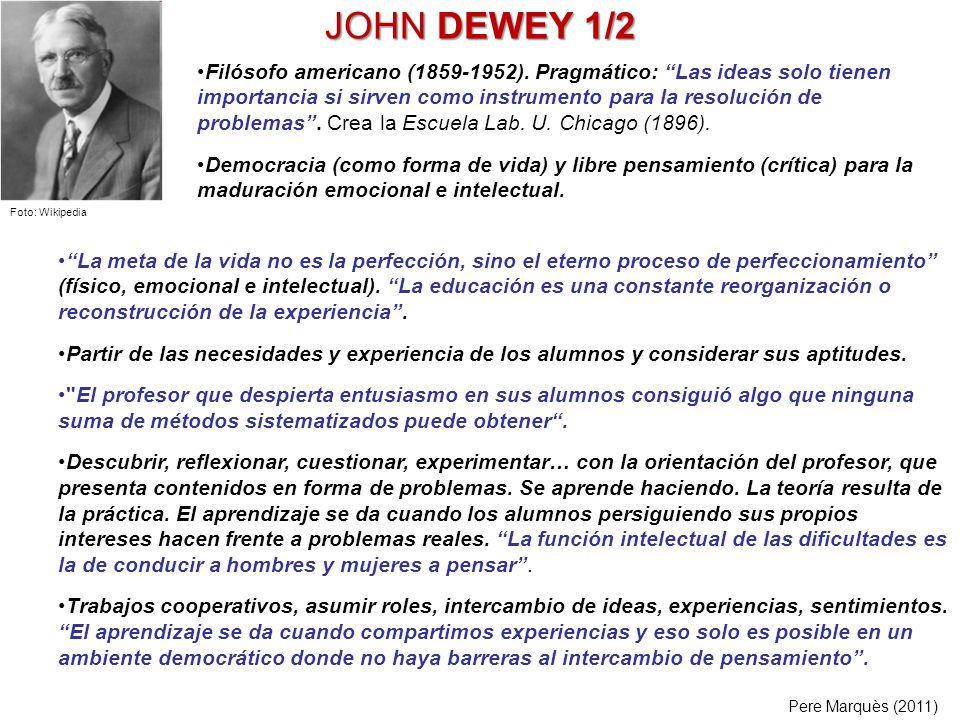 JOHN DEWEY 1/2
