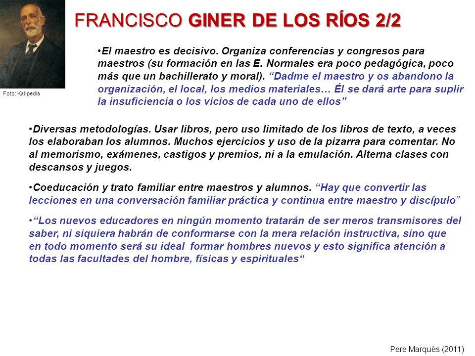 FRANCISCO GINER DE LOS RÍOS 2/2