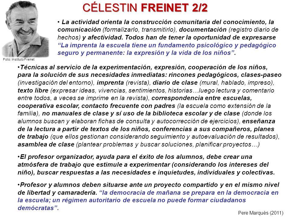 CÉLESTIN FREINET 2/2