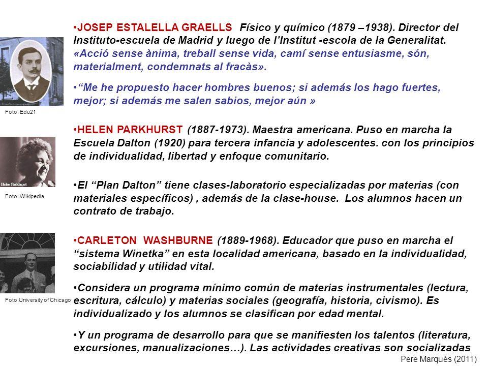 JOSEP ESTALELLA GRAELLS Físico y químico (1879 –1938)