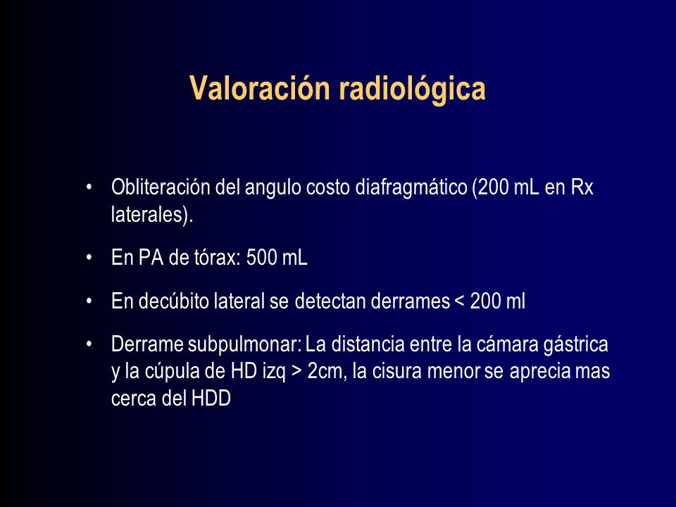 Valoración radiológica