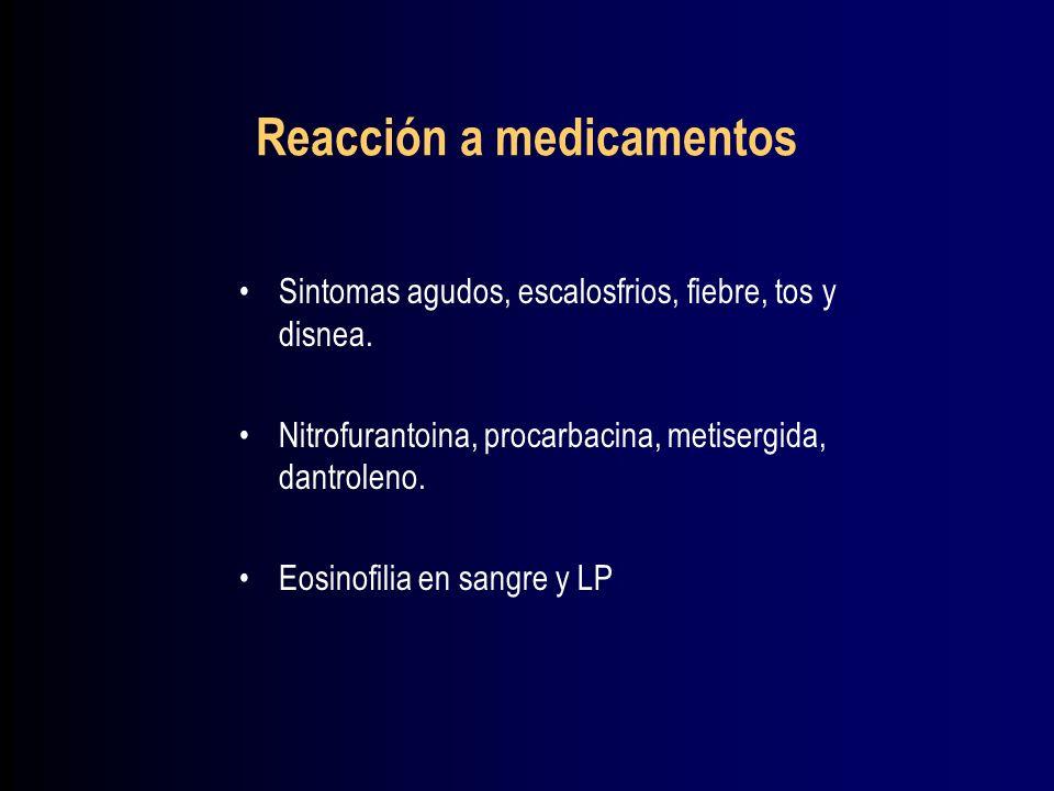 Reacción a medicamentos