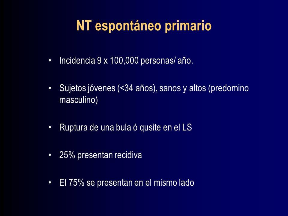 NT espontáneo primario
