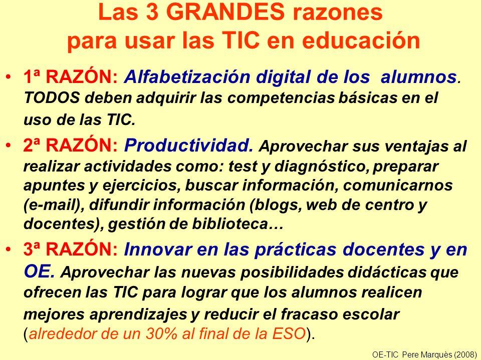 Las 3 GRANDES razones para usar las TIC en educación