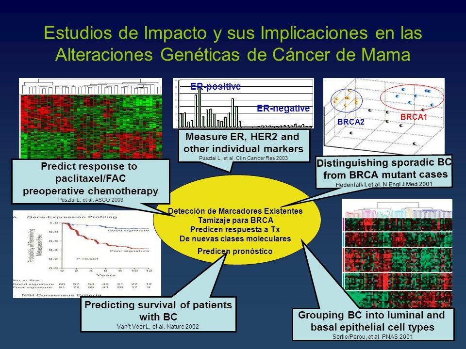 Estudios de Impacto y sus Implicaciones en las Alteraciones Genéticas de Cáncer de Mama