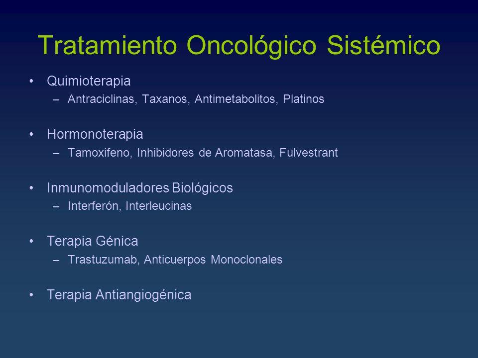 Tratamiento Oncológico Sistémico