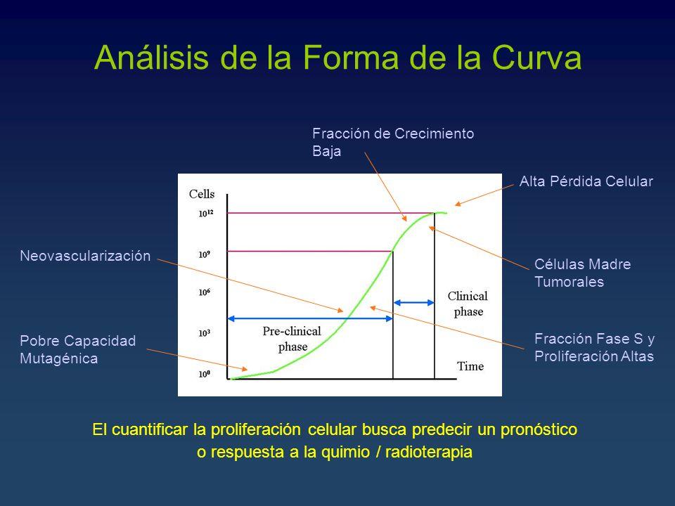 Análisis de la Forma de la Curva