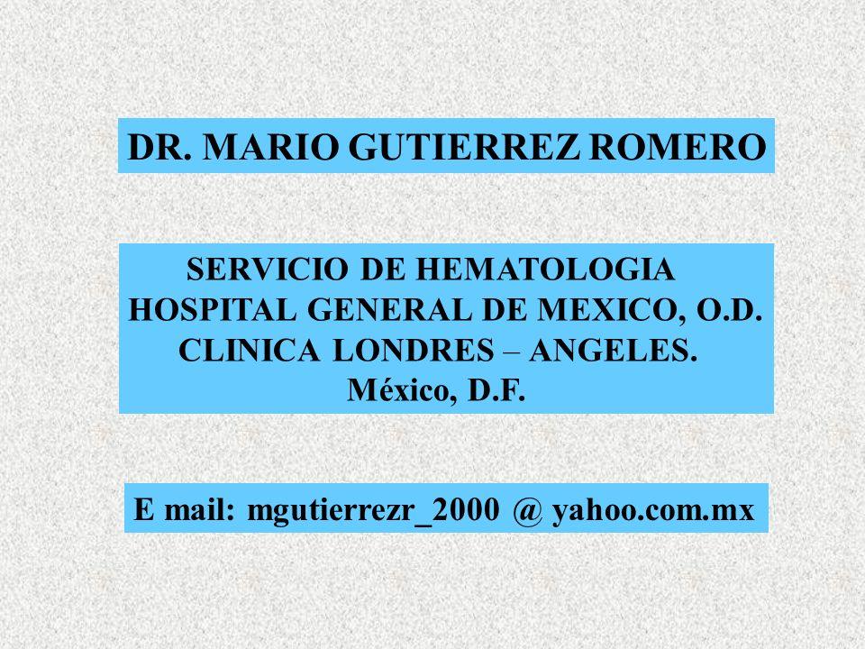 DR. MARIO GUTIERREZ ROMERO