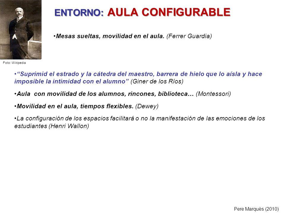 ENTORNO: AULA CONFIGURABLE