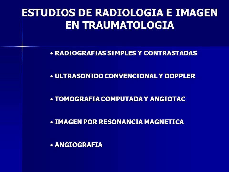 ESTUDIOS DE RADIOLOGIA E IMAGEN
