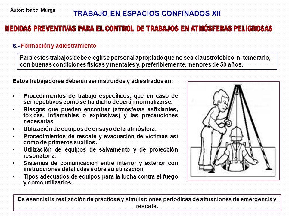 TRABAJO EN ESPACIOS CONFINADOS XII