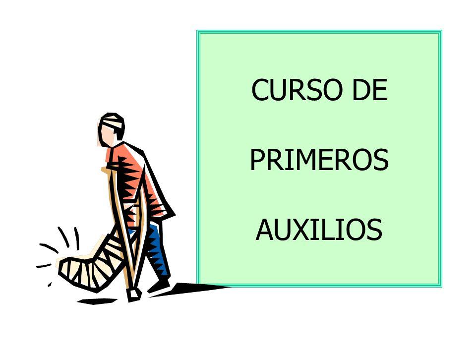 CURSO DE PRIMEROS AUXILIOS