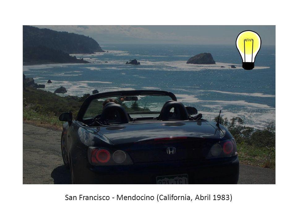 San Francisco - Mendocino (California, Abril 1983)