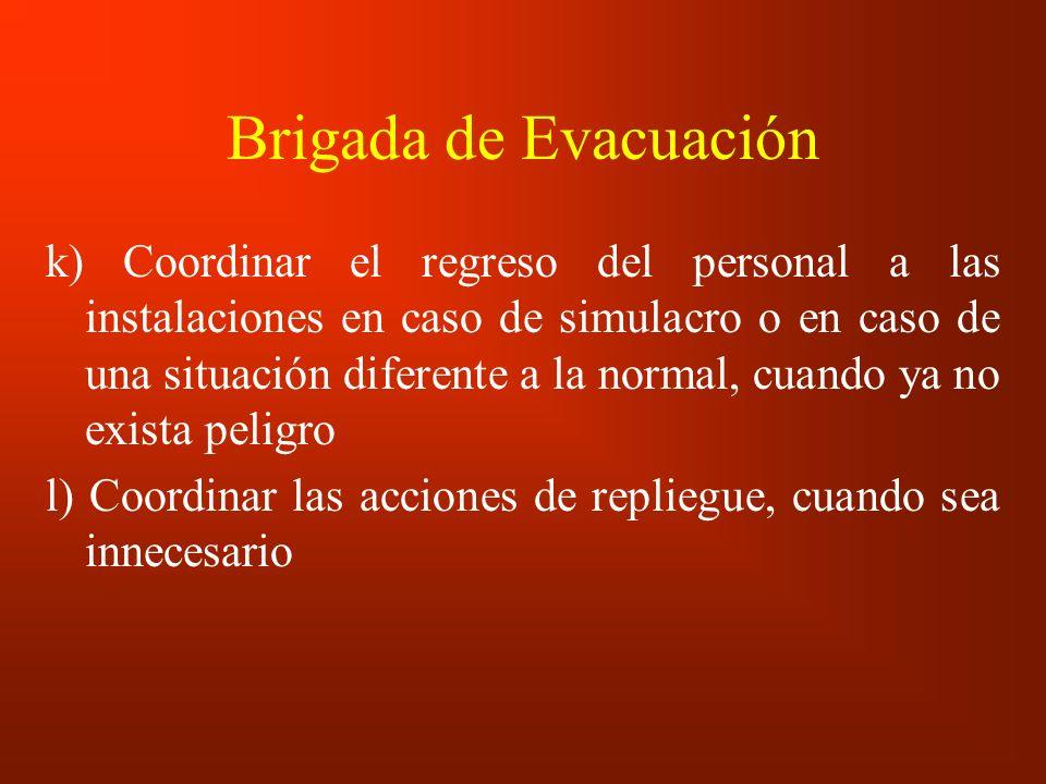 Brigada de Evacuación