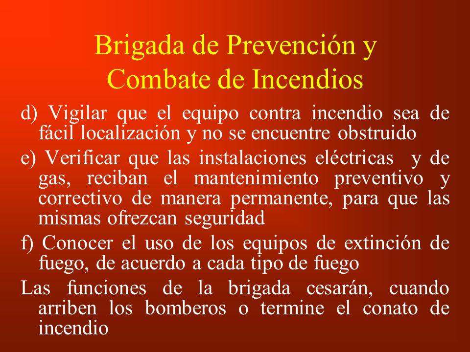 Brigada de Prevención y Combate de Incendios