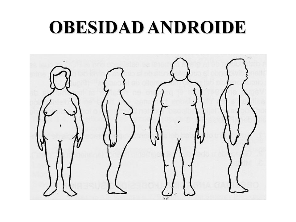 OBESIDAD ANDROIDE