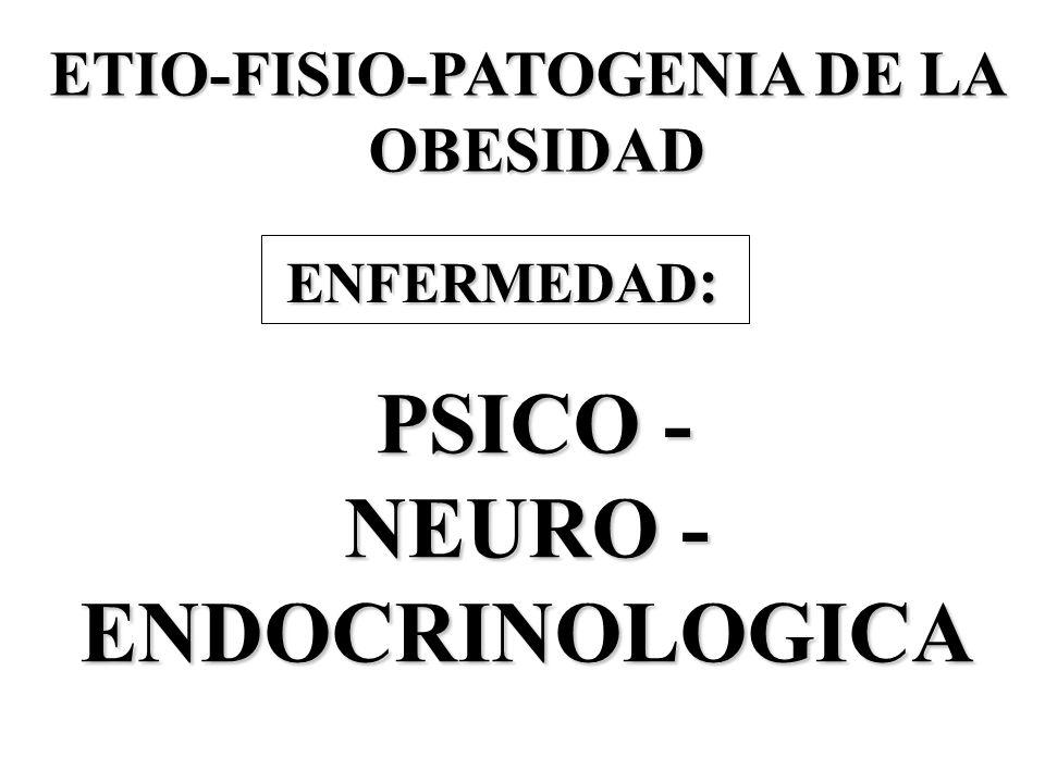 ETIO-FISIO-PATOGENIA DE LA
