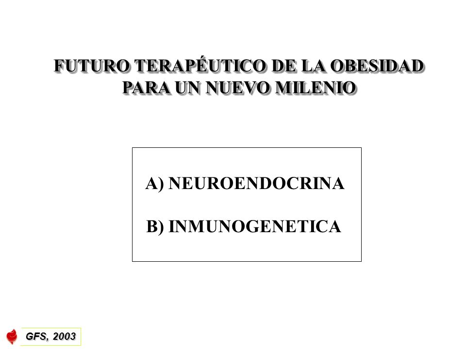FUTURO TERAPÉUTICO DE LA OBESIDAD